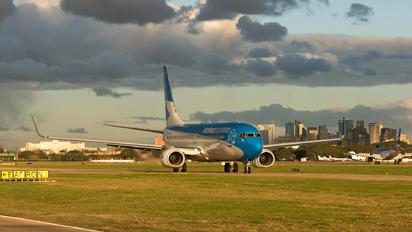 LV-GGQ - Aerolineas Argentinas Boeing 737-800
