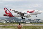 PR-MAO - TAM Airbus A319 aircraft