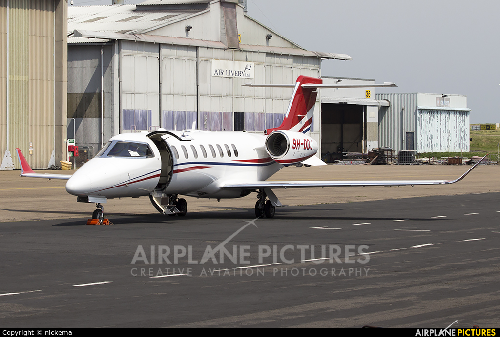 Private 9H-DDJ aircraft at East Midlands