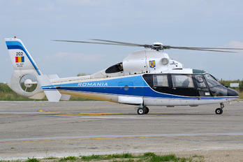 202 - Romania - Air Force Aerospatiale AS365 Dauphin II