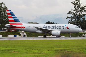 N717UW - US Airways Airbus A319