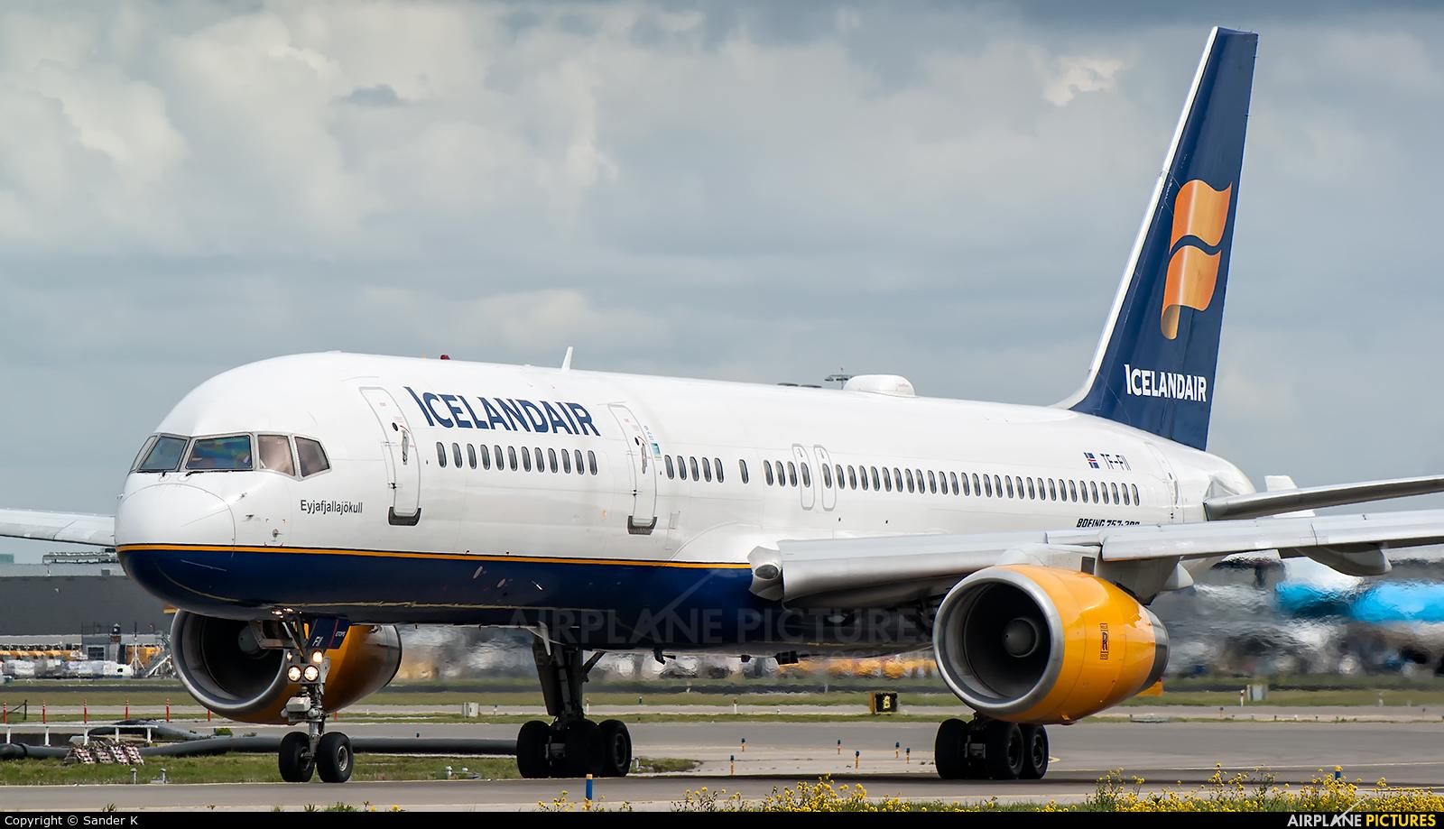 Icelandair TF-FII aircraft at Amsterdam - Schiphol