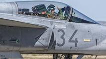 34 - Hungary - Air Force SAAB JAS 39C Gripen aircraft