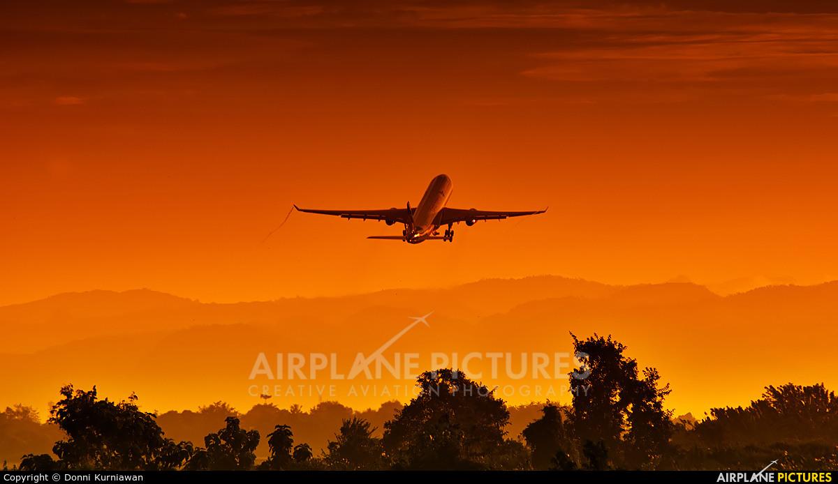 Garuda Indonesia PK-GHC aircraft at Off Airport - Indonesia