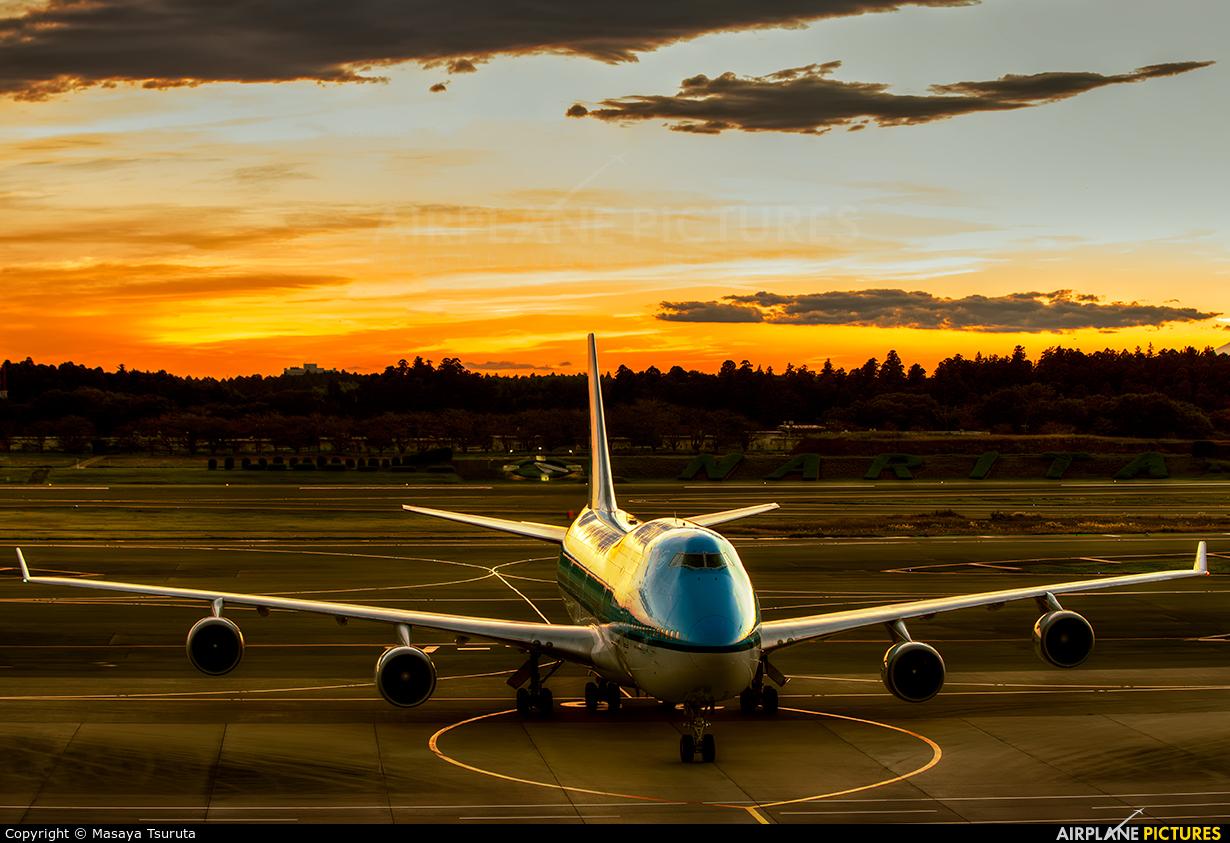 KLM PH-BFW aircraft at Tokyo - Narita Intl