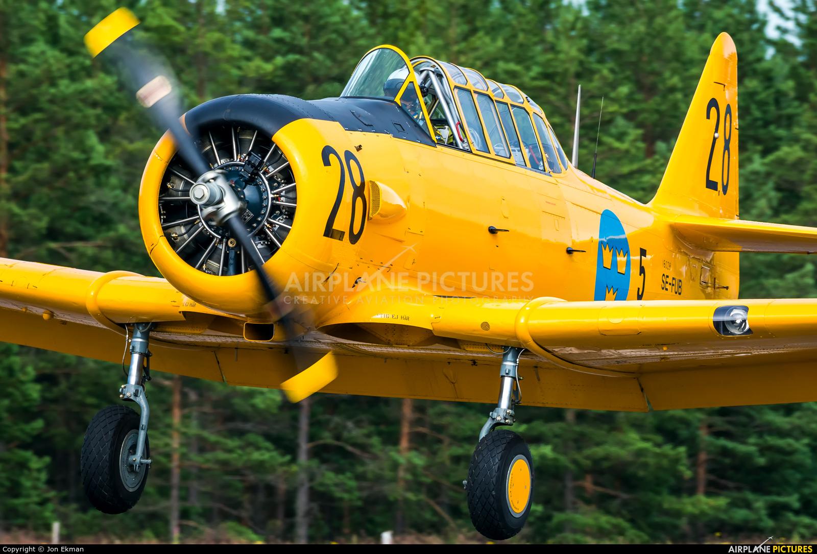 Swedish Air Force Historic Flight SE-FUB aircraft at Jämijärvi