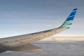 PK-GMM - Garuda Indonesia Boeing 737-800