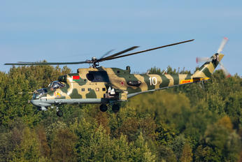10 - Belarus - Air Force Mil Mi-24P