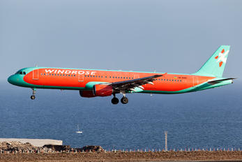UR-WRO - Windrose Air Airbus A321