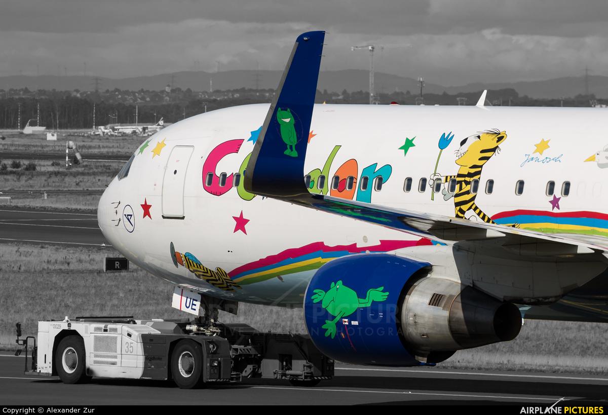 Condor D-ABUE aircraft at Frankfurt