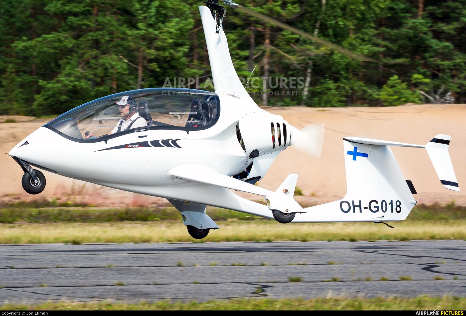 Private OH-G018 aircraft at Jämijärvi