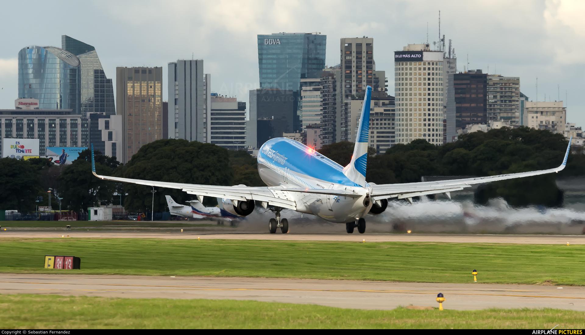 Aerolineas Argentinas LV-FRK aircraft at Buenos Aires - Jorge Newbery