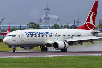 TC-JVB - Turkish Airlines Boeing 737-800