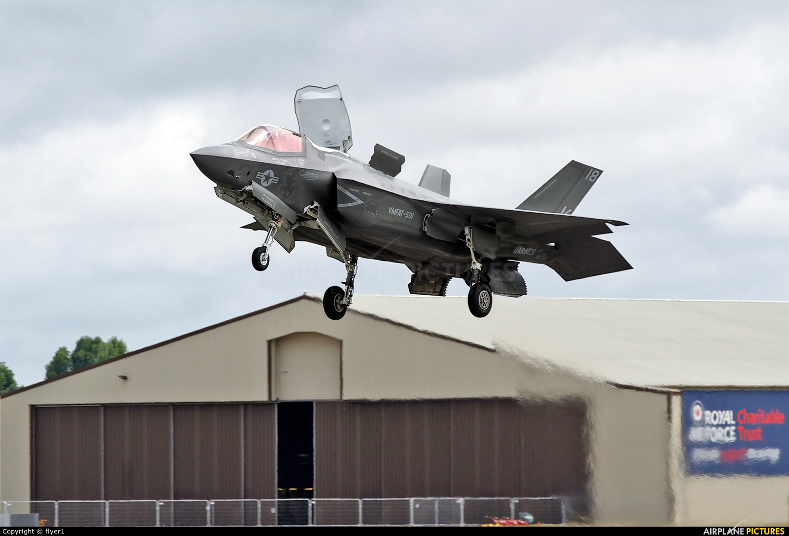 USA - Marine Corps 168727 aircraft at Fairford