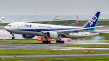 JA706A - ANA - All Nippon Airways Boeing 777-200 aircraft