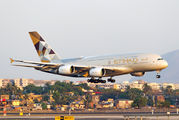 A6-APB - Etihad Airways Airbus A380 aircraft