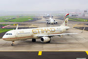 A6-AEB - Etihad Airways Airbus A321 aircraft