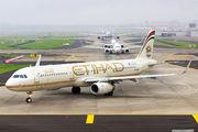 A6-AEB - Etihad Airways Airbus A321 aircraft