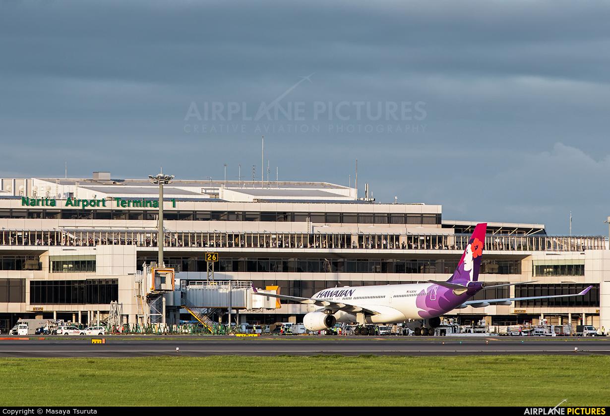 Hawaiian Airlines N380HA aircraft at Tokyo - Narita Intl