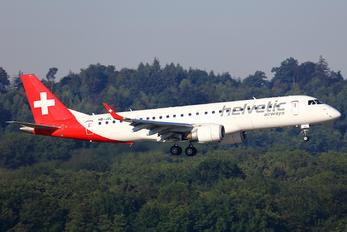 HB-JVL - Helvetic Airways Embraer ERJ-190 (190-100)