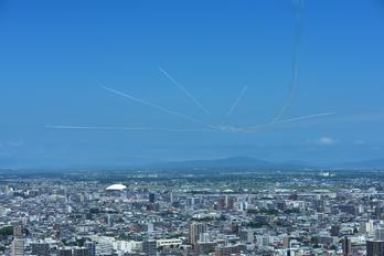 - - Japan - ASDF: Blue Impulse - Airport Overview - Overall View