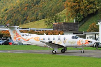 M-ICKY - Private Pilatus PC-12