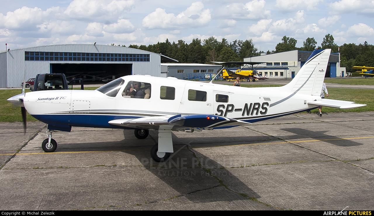 Private SP-NRS aircraft at Czestochowa - Rudniki