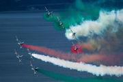 "MM54487 - Italy - Air Force ""Frecce Tricolori"" Aermacchi MB-339-A/PAN aircraft"