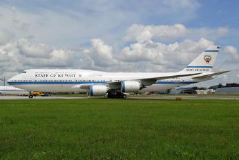 9K-GAAA - Kuwait - Government Boeing 747-8