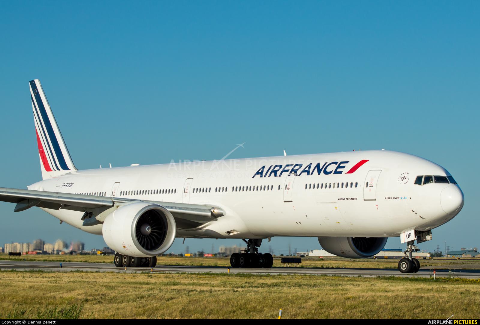 Air France F-GSQP aircraft at Toronto - Pearson Intl, ON