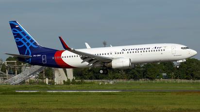 PK-CMJ - Sriwajaya Air Boeing 737-800