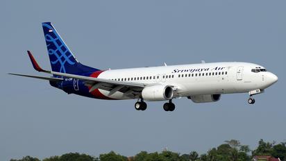 PK-CMI - Sriwajaya Air Boeing 737-800