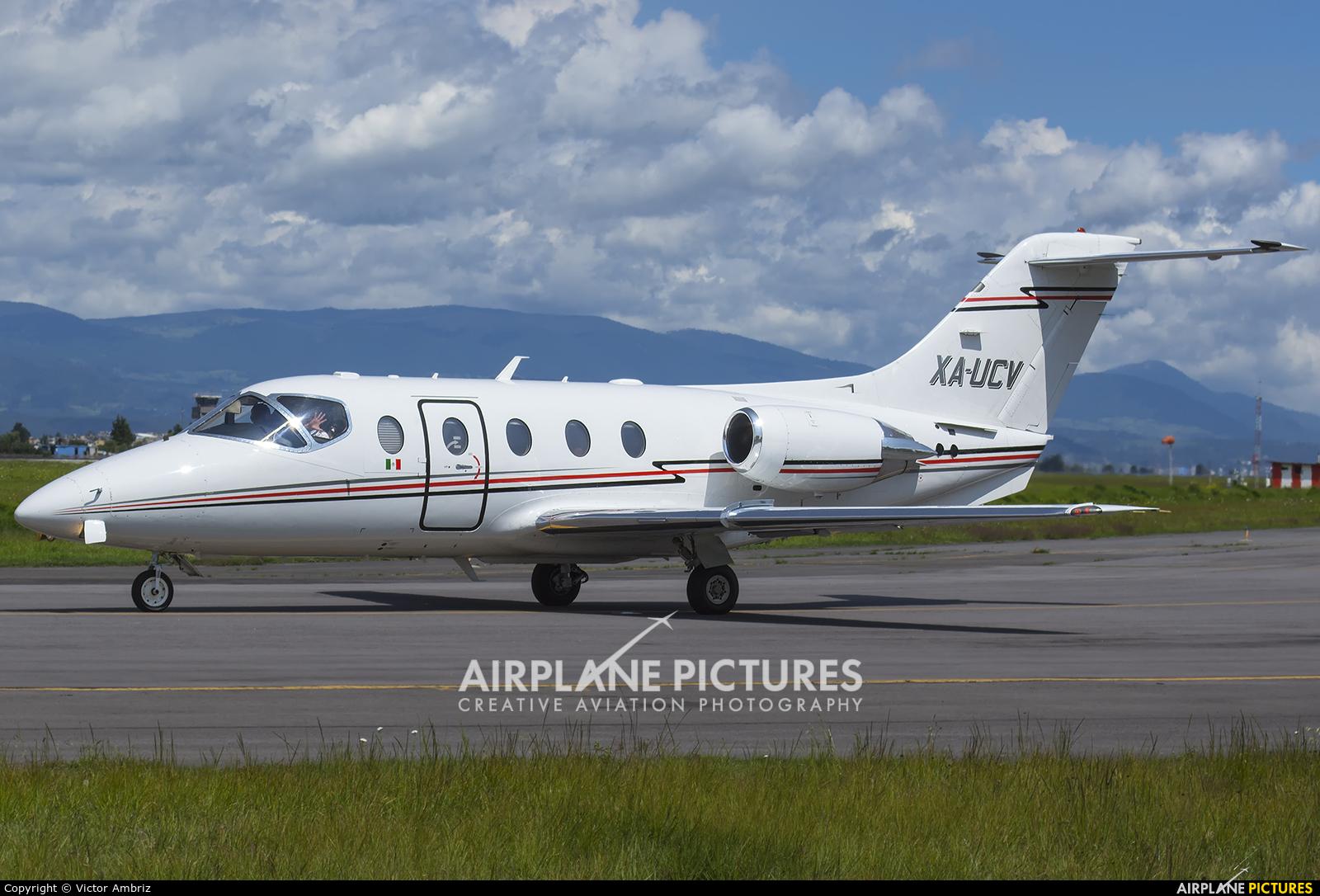 Aerolineas Ejecutivas XA-UCV aircraft at Toluca Intl