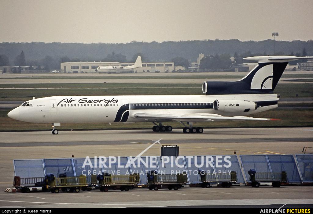 Georgian Airlines 4L-85547 aircraft at Frankfurt