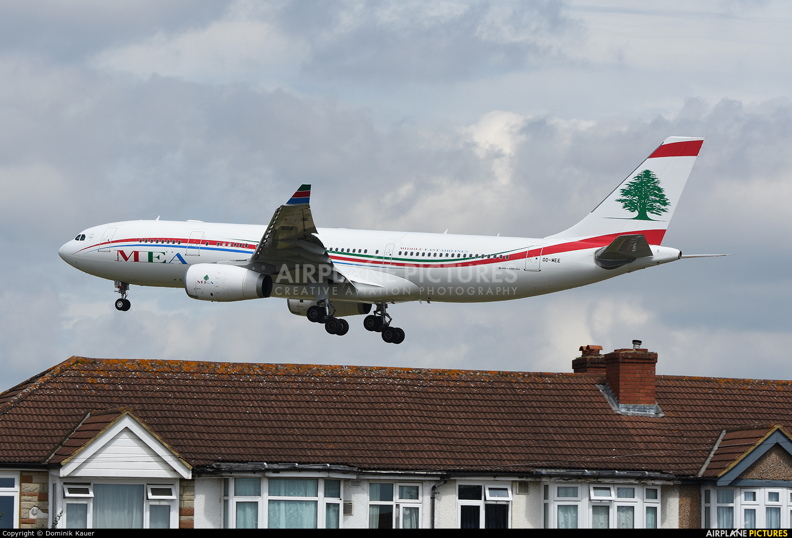 MEA - Middle East Airlines OD-MEE aircraft at London - Heathrow