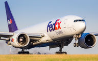 N856FD - FedEx Federal Express Boeing 777F aircraft
