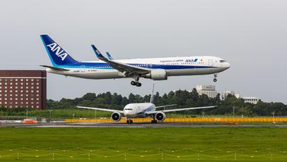 JA626A - ANA - All Nippon Airways Boeing 767-300ER