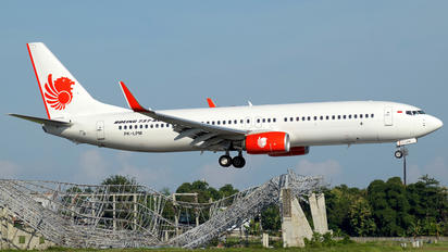 PK-LPM - Lion Airlines Boeing 737-800