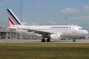 F-GUGB - Air France Airbus A318 aircraft
