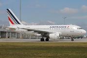 F-GUGB - Air France Airbus A318 aircraft