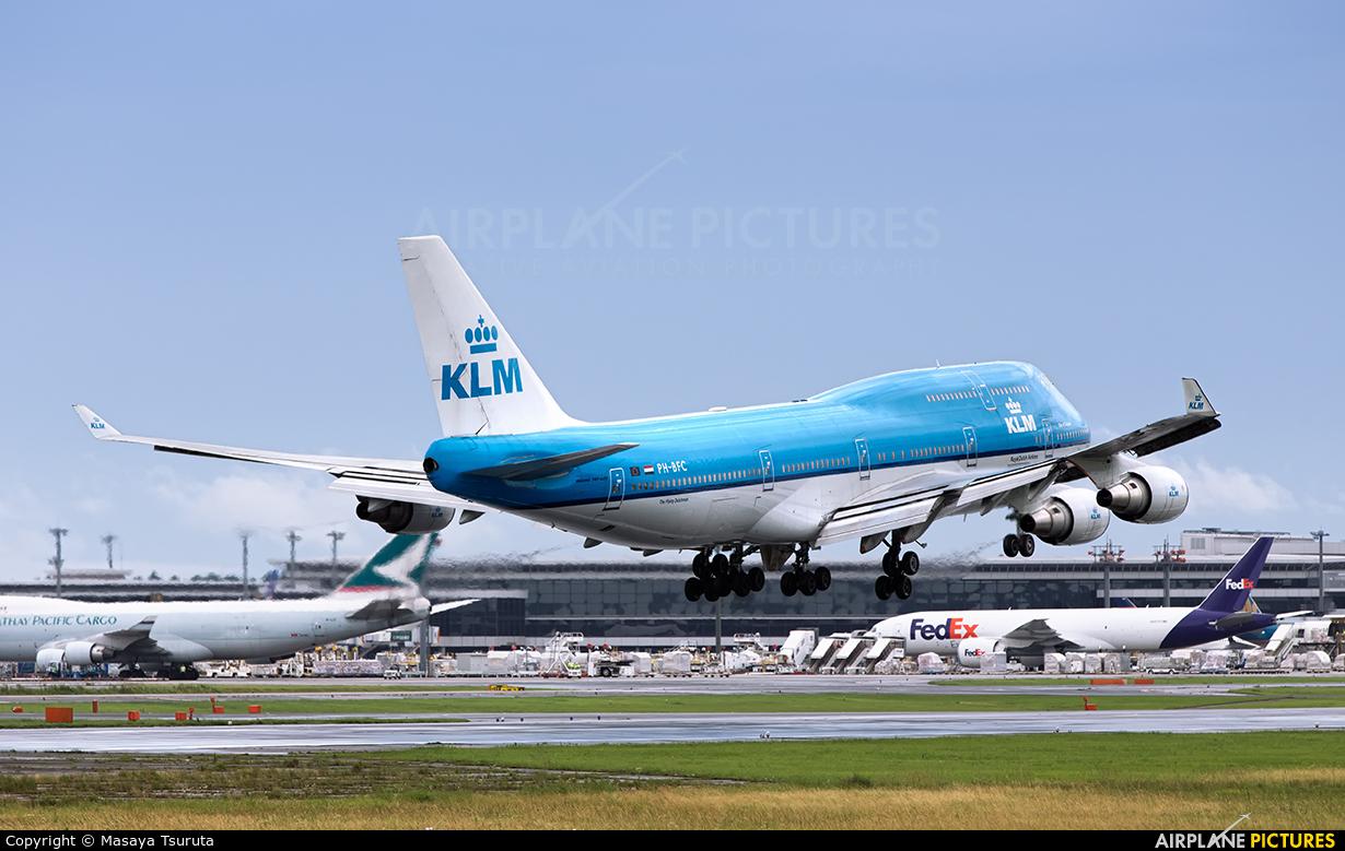 KLM PH-BFC aircraft at Tokyo - Narita Intl