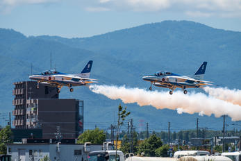 46-5736 - Japan - ASDF: Blue Impulse Kawasaki T-4