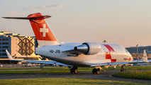 HB-JRB - REGA Swiss Air Ambulance  Canadair CL-600 Challenger 604 aircraft