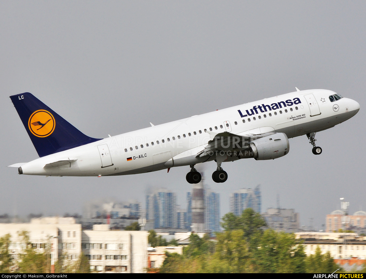 Lufthansa D-AILC aircraft at St. Petersburg - Pulkovo