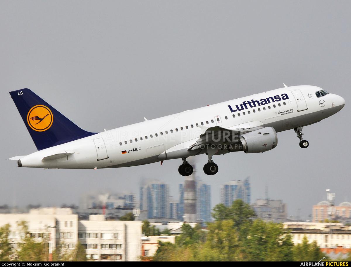 Lufthansa D-AILC aircraft at St. Petersburg - Pulkovo