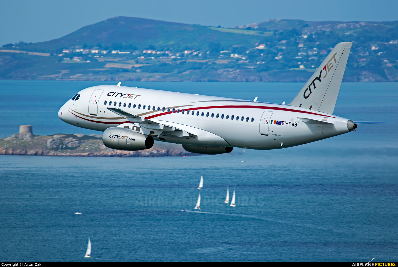 CityJet EI-FWB aircraft at Bray - Off Airport