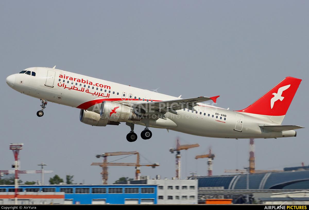 Air Arabia A6-ANB aircraft at Moscow - Domodedovo