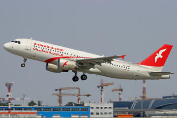 A6-ANB - Air Arabia Airbus A320