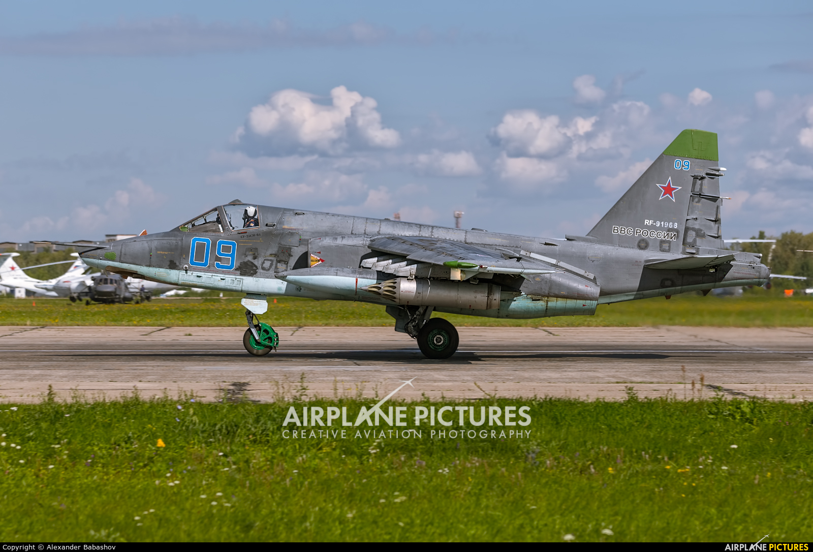 Russia - Air Force Sukhoi Su-25SM RF-91968
