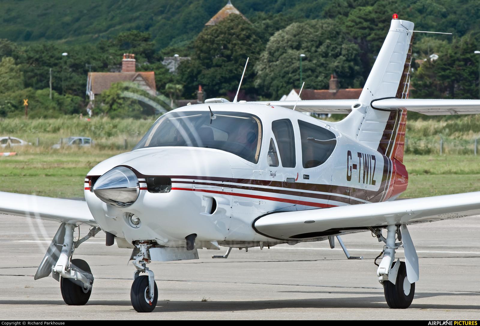 Private G-TWIZ aircraft at Brighton - Shoreham